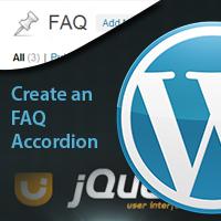 利用 jQuery UI 在 WordPress 创建一个 FAQ 模块