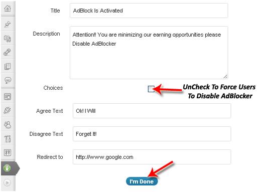 WordPress 中阻止使用 AdBlock 的用户